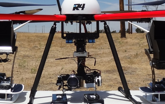 Le Industrial r4 industrial model endurance high payload